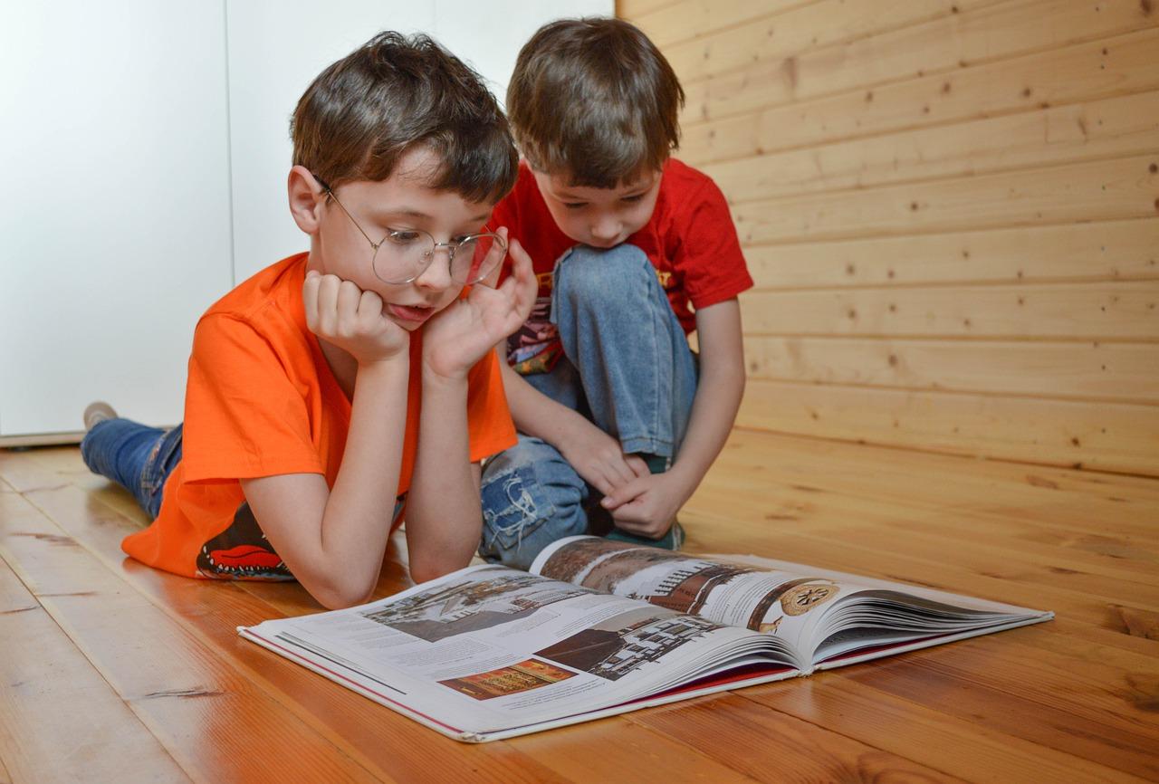 子ども雑誌みる
