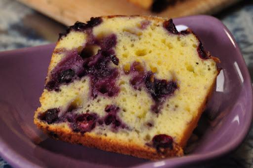 ブルーベリーとヨーグルトのケーキ